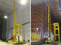 Vertical automatic storage system / with stacker crane