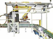 Robotic depanner / sandwich bread