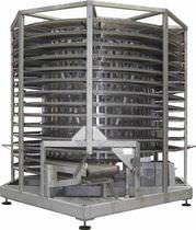 Cooling tower for the food industry