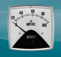 AC ammeter / analog / flush-mount