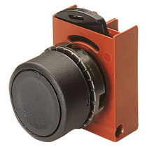 Momentary push-button switch / single-pole