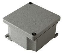 Aluminum junction box / explosion-proof / wall-mounted