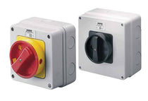 Rotary switch / multipolar / IP65 / power