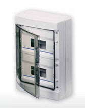 Plastic electrical enclosure / modular / waterproof / power distribution