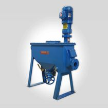 Knife mill / horizontal / for ore / stainless steel
