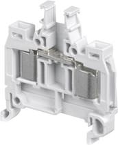 DIN rail-mounted terminal block / fused / IDC