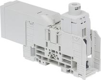 Stud terminal block / DIN rail-mounted / power