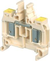 Stud terminal block / quick-connect / spring / DIN rail-mounted