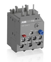 Thermal protection relay / contactor mount / automatic reset / manual reset