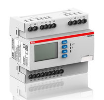 Over-voltage monitoring relay / under-voltage / frequency / DIN rail