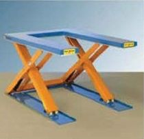 Scissor lift table / hydraulic / U-shape