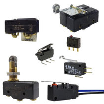 Toggle switch / 2-pole / single-pole / precision