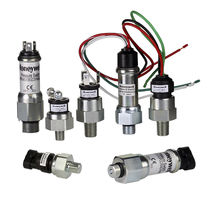 Mechanical pressure and vacuum switch / diaphragm / for liquids / for hydrocarbons