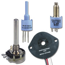Rotary potentiometer / linear / analog