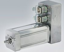 Synchronous motor / brushless / voltage / 24 V