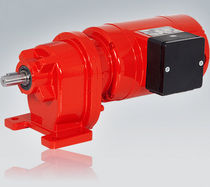 DC electric gearmotor / coaxial / spur