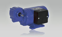 DC electric gearmotor / right-angle / worm