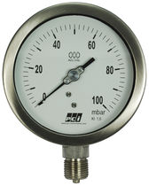 Capsule pressure gauge / analog / low-pressure