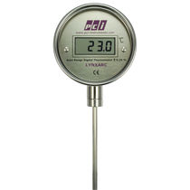 Digital thermometer / probe / insertion / industrial