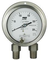 Capsule pressure gauge / differential / analog / process