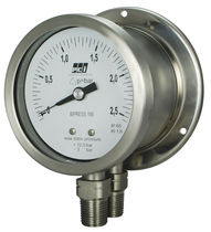 Pressure gauge / Bourdon tube / differential / analog / process