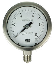 Pressure gauge / Bourdon tube / analog / process / with safety case