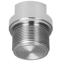 Diaphragm seal with threaded connection