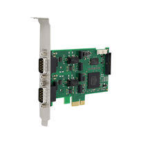 PCI Express interface card / CAN / industrial / low-profile