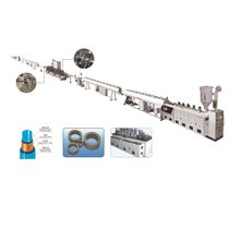 Plastic-aluminum composite pipe extrusion line / pipe / for PP-R / multilayer