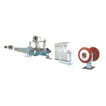 Plastic-aluminum composite pipe extrusion line / for tubes / for thermoplastics / for PEX