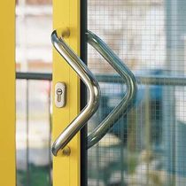 Tubular handle / door / stainless steel