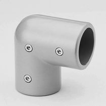 Elbow tube connector / steel