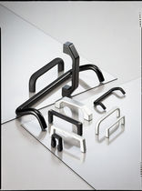 Pull handle / door / aluminum / U-shaped