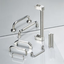 Pull handle / folding / transport / stainless steel
