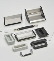 Pull-out handle / recessed / pulling / aluminum
