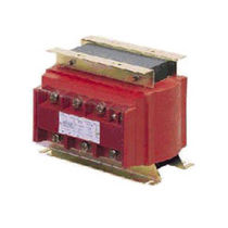 Isolation transformer / cast resin / floor-standing / three-phase