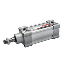 Pneumatic cylinder / double-acting / single-acting / standard