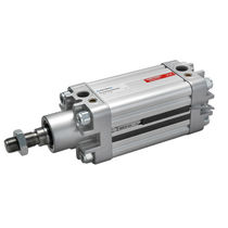 Pneumatic cylinder / double-acting / tandem