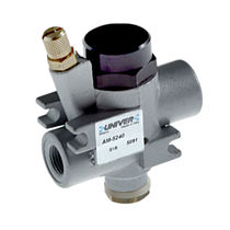 Pneumatic-operated valve / soft-start