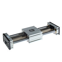 Slide guide unit / for pneumatic cylinders