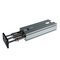 Ball bearing linear guide unit / for cylinders / track