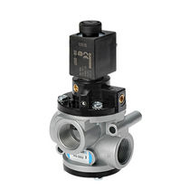 Poppet valve / electric / pneumatic-operated / control