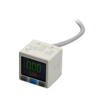 Liquid pressure switch / mechanical / with digital display