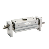 Pneumatic gripper / parallel / 2-jaw / with linear guide