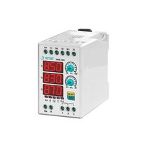 Overload relay / DIN rail / three-phase / automatic reset