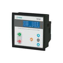 Three-phase control relay / digital / panel-mount / for motors