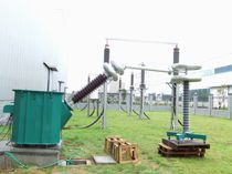 Test transformer / power / immersed / AC