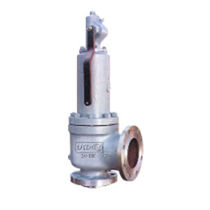 Poppet safety relief valve / for gas