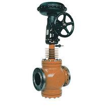 Globe valve / manual / control / double