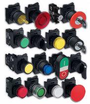 Single-pole push-button switch / standard / electromechanical / IP66